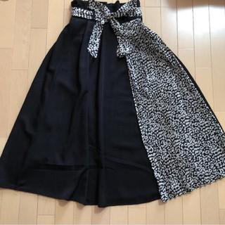しまむら - レオパード切り替えスカート