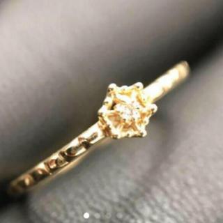 アガット(agete)の大特価!アガットk10ダイヤモンドリング (リング(指輪))