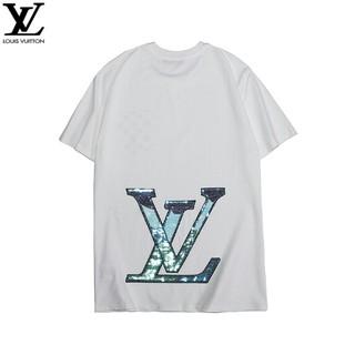 ルイヴィトン(LOUIS VUITTON)のLOUIS VUITTON 半袖 男女兼用Tシャツ カジュアル(Tシャツ/カットソー(半袖/袖なし))