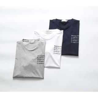 モンクレール(MONCLER)の2枚‼ Tシャツ 半袖 プリント MONCLER モンクレール M-3XL 2枚(Tシャツ/カットソー(半袖/袖なし))