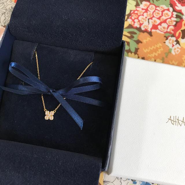 AHKAH(アーカー)の値下げ!アーカー  ペタルパヴェ ネックレス レディースのアクセサリー(ネックレス)の商品写真