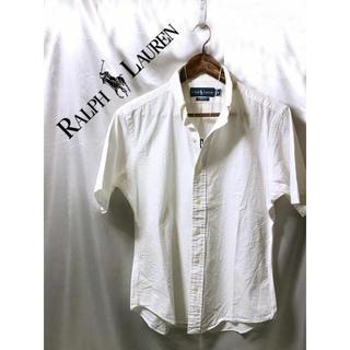 ラルフローレン(Ralph Lauren)のRalph Lauren 半袖シャツ 白シャツ ホワイト カッターシャツ(シャツ)
