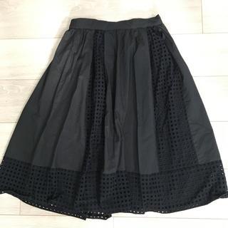 バビロン(BABYLONE)のDENDOROBIUMスカート☆フリーサイズ(ひざ丈スカート)