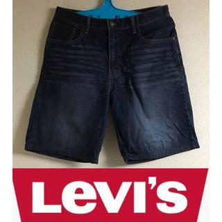 Levi's - リーバイス 美品 送料無料 デニムハーフパンツ ショートパンツ メンズ w33