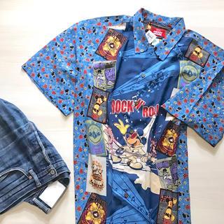 Disney - デッドストック 専門店限定 vintage レインスプーナー ミッキー シャツ