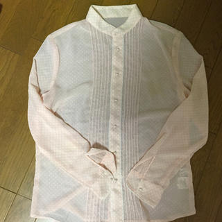 ロペピクニック(Rope' Picnic)のパールボタン レースシャツ(シャツ/ブラウス(長袖/七分))