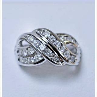 豪華※天然ダイヤモンド1.03ctデザインリング(リング(指輪))