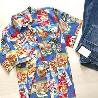 Disney - USED vintage ミッキー レインスプーナー アロハシャツ