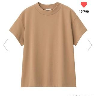 ジーユー(GU)のGU スムースt ブラウン(Tシャツ(半袖/袖なし))