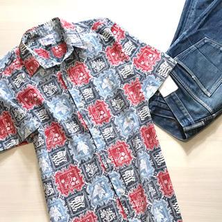 Reyn Spooner - 入手困難 vintage90s ハワイ製 レインスプーナー アロハシャツ