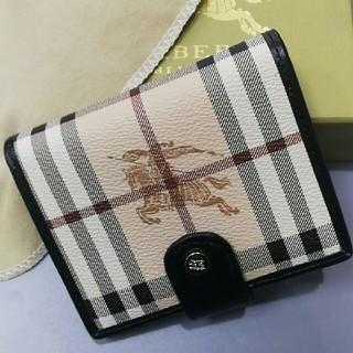 バーバリー(BURBERRY)のBURBERRY バーバリー 財布 美品 男女通用 (折り財布)