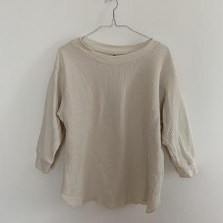 ユニクロ(UNIQLO)のワッフルクルーネックT(Tシャツ(長袖/七分))