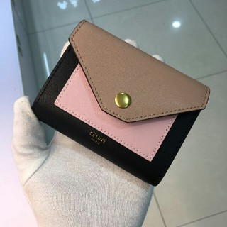セリーヌ(celine)のCELINE バイカラー カードケース ミニ財布(財布)