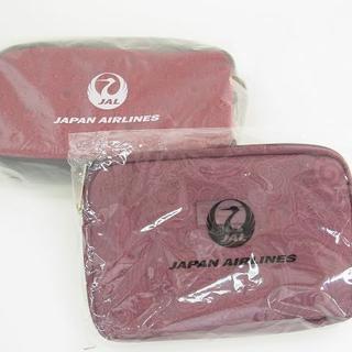 ジャル(ニホンコウクウ)(JAL(日本航空))のJAL アメニティ 2点セット ETRO・ 龍村美術織物 新品・未開封 (ノベルティグッズ)