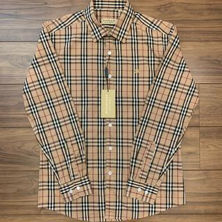 【BURBERRY】新品未使用 19SS バーバリー チェックシャツ タグ付き