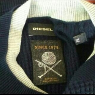 ディーゼル(DIESEL)のDIESEL  ワッフル生地のカットソー(Tシャツ/カットソー(七分/長袖))