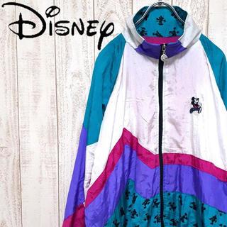 Disney - 【希少】ディズニー ミッキー ナイロンジャケット 海外直輸入 ヴィンテージ