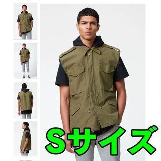 フィアオブゴッド(FEAR OF GOD)のSサイズ FOG Army Parker Cutoff Vest(ミリタリージャケット)