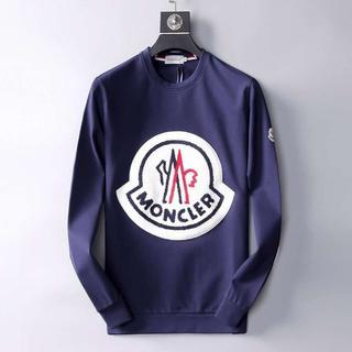 MONCLER - Monclerスウェット/黒い、紺色