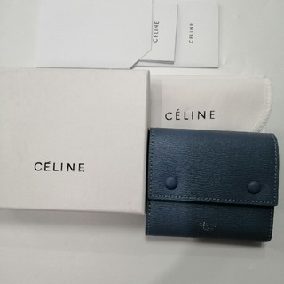 セリーヌ(celine)の美品 19ssセリーヌCeline   折り財布   美品 (財布)