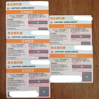 ジャル(ニホンコウクウ)(JAL(日本航空))のJAL 株主優待券 株主割引券(航空券)