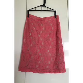 エイチアンドエム(H&M)のH&M コンシャスコレクション レーススカート(ひざ丈スカート)