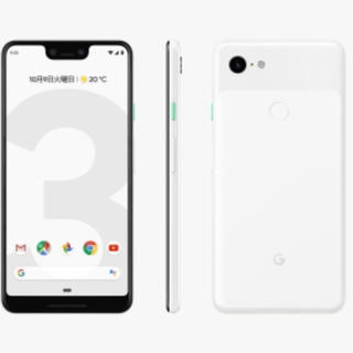 ANDROID - Google pixel3 64GB clearly white