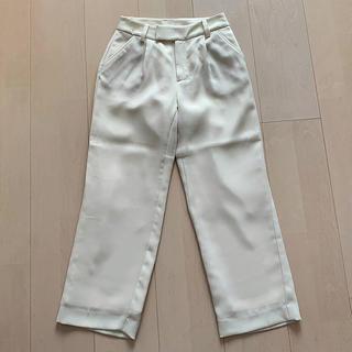アールユー(RU)のru*マルイ 小さいサイズ ホワイトワイドパンツ(カジュアルパンツ)