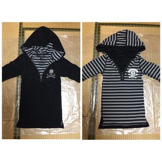 ロエン(Roen)の未使用◆超美品◆ロエン◆半袖パーカー◆リバーシブル◆カットソーTシャツ(Tシャツ(半袖/袖なし))