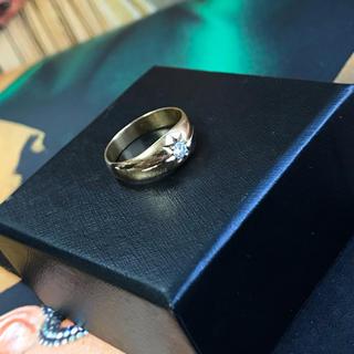 【k18】✨美品✨ダイヤモンド リング 『18金ダイヤモンド』♯14(リング(指輪))