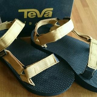 テバ(Teva)のtevaフラットフォームユニバーサルサンダル(サンダル)
