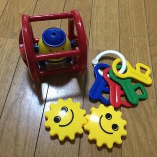 ボーネルンド(BorneLund)のボーネルンド 赤ちゃん おもちゃ 3個セット ベビートイ 0ヶ月〜(知育玩具)