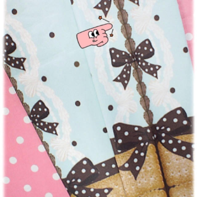 Angelic Pretty(アンジェリックプリティー)のAngelic Pretty  Sweet Cream House タイツ  レディースのレッグウェア(タイツ/ストッキング)の商品写真