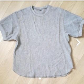 ユニクロ UNIQLO ワッフルTシャツ ワッフル Tシャツ