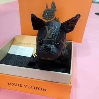 ルイヴィトン(LOUIS VUITTON)のLV キーホルダー 可愛い犬 美品(キーホルダー)