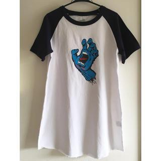 ヴァンズ(VANS)のサンタクルーズ Tシャツ ワンピース(Tシャツ(半袖/袖なし))