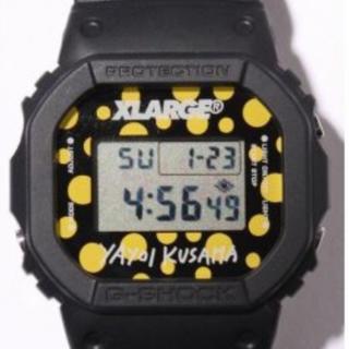 カシオ(CASIO)の草間彌生  X- LARGE G-SHOCK トリプルコラボ CASIO レア(腕時計(デジタル))