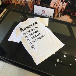 モンクレール(MONCLER)のMONCLER 男女兼用Tシャツ 半袖 高品質 カジュアル(Tシャツ/カットソー(半袖/袖なし))