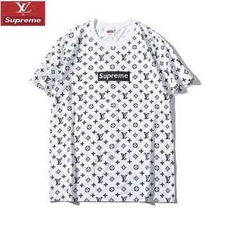 ルイヴィトン(LOUIS VUITTON)のLOUIS VUITTON コラボ 男女兼用Tシャツ ロゴ刺繍 カジュアル(Tシャツ/カットソー(半袖/袖なし))