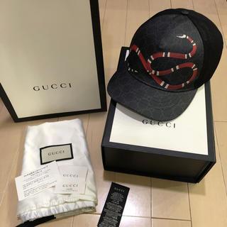 グッチ(Gucci)のGUCCI スネーク キャップ XL 美品!(キャップ)