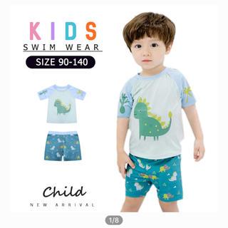 キッズ 水着 男の子 恐竜 プール 海 スイムウエア 子ども服(水着)
