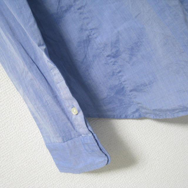 L'Appartement DEUXIEME CLASSE(アパルトモンドゥーズィエムクラス)のアパルトモン タイプライター 襟ワイヤー 1ポケット シャツ ブラウス レディースのトップス(シャツ/ブラウス(長袖/七分))の商品写真