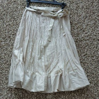 バーバリー(BURBERRY)のバーバリー プリーツスカート(ひざ丈スカート)