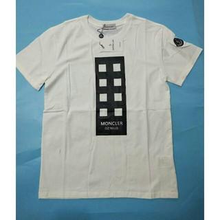 モンクレール(MONCLER)のMONCLER モンクレール 男女兼用 Tシャツ 半袖 美品 M (Tシャツ/カットソー(半袖/袖なし))