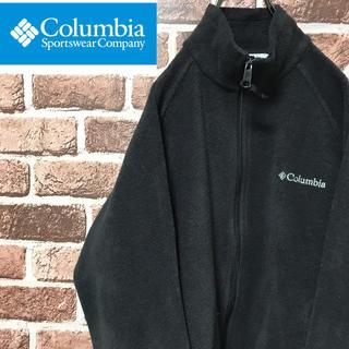 コロンビア(Columbia)の【激レア】コロンビア 刺繍ロゴ 人気のブラック フリースジャケット(その他)