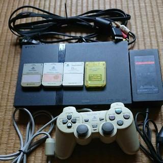 PlayStation2 - プレイステーション2 メモリーカード 4枚ソフト付き