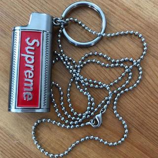 シュプリーム(Supreme)のSupremeライター ネックレス silver lighter holster(ネックレス)