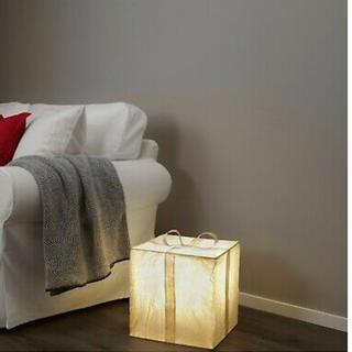 イケア(IKEA)の限定品★IKEA イケア プレゼント型 ライト(照明、ランプ、フロアライト)(フロアスタンド)