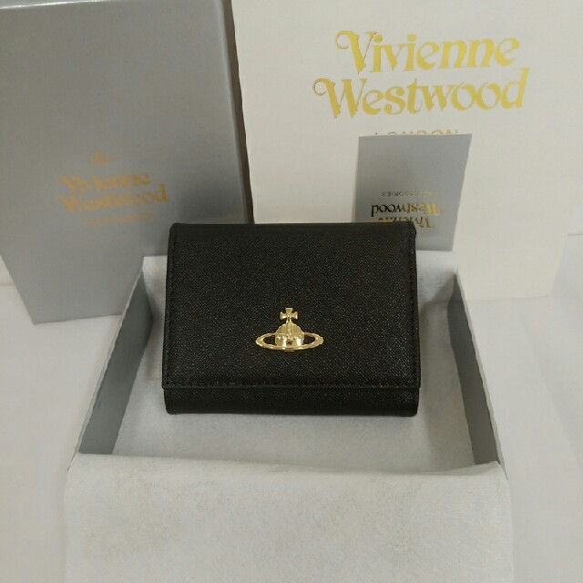 Vivienne Westwood(ヴィヴィアンウエストウッド)のヴィヴィアンウエストウッド 三つ折財布 がま口財布   レディースのファッション小物(財布)の商品写真
