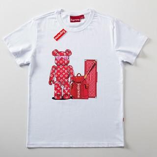 LOUIS VUITTON - LV    Tシャツ 半袖 綿    可愛い
